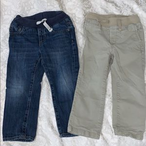 Gap pull up Jeans and Khakis